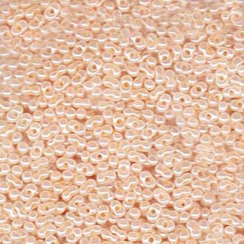 Matsuno Peanut Beads 2x4mm (P3332) Ceylon Peach