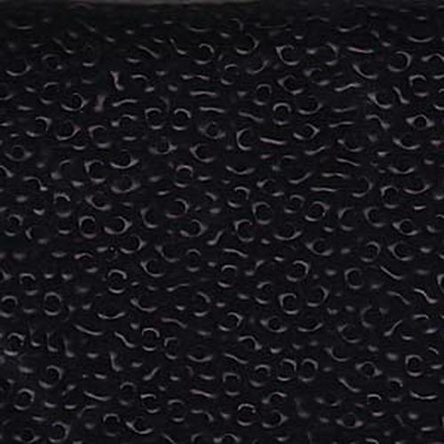 Matsuno Peanut Beads 2x4mm (P2748-MA) Opaque Black Matte