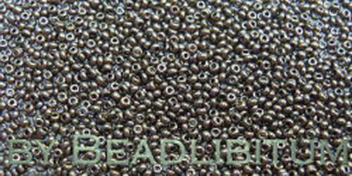 Tschechische Rocailles 13/0 Dark Bronze, 10g