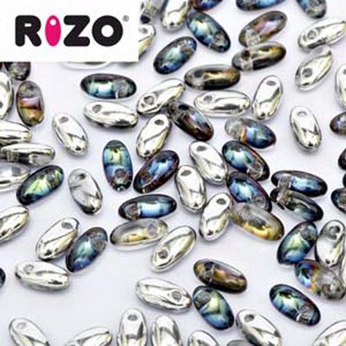 Rizo Beads 2,5x6mm Bermuda Blue