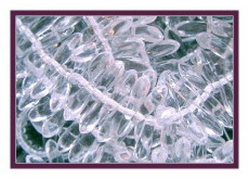 Dagger 3x11mm Crystal