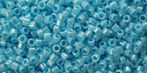 TOHO Treasures 11/0 (#124B) Blue Turquoise Opaque Luster