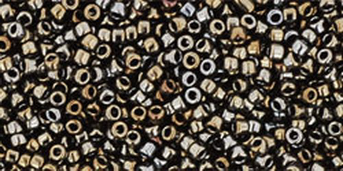 TOHO Rocailles 15/0 (#83) Metallic Iris Brown