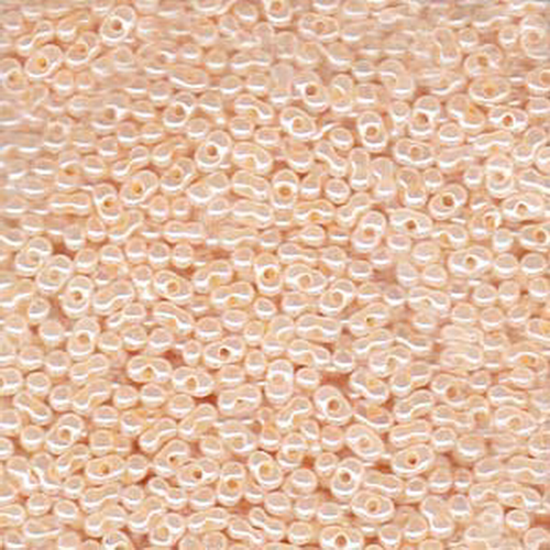 Matsuno Peanut Beads 2x4mm (P3332) Ceylon Peach