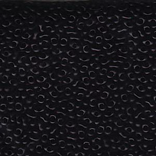 Matsuno Peanut Beads 2x4mm (P2748-MA) Opaque Black Matte