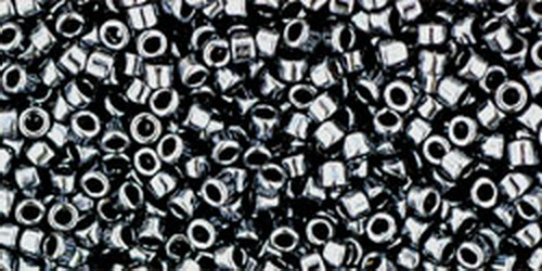 TOHO Treasures 11/0 (#81) Metallic Hematite