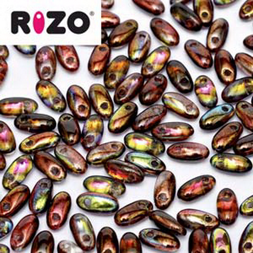 Rizo Beads 2,5x6mm Magic Wine