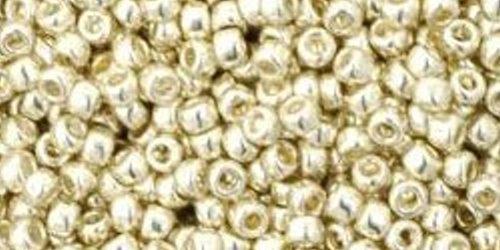 TOHO Rocailles 11/0 (#558PF) Permanent Finish - Galvanized Aluminum