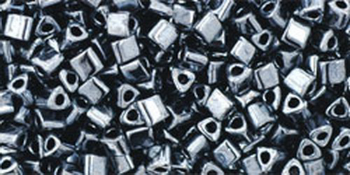 TOHO Triangle 11/0 (#81) Metallic Hematite