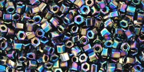 TOHO Hexcut 11/0 (#86) Metallic Rainbow Iris