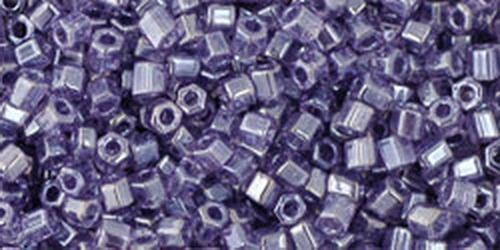 TOHO Hexcut 11/0 (#136) Trans-Lustered Sugar Plum