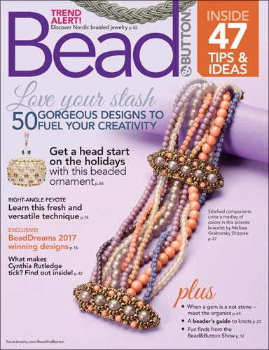 Bead & Button Magazine October 2017