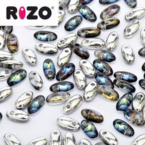 Rizo Beads 2,5x6mm Bermuda Blue