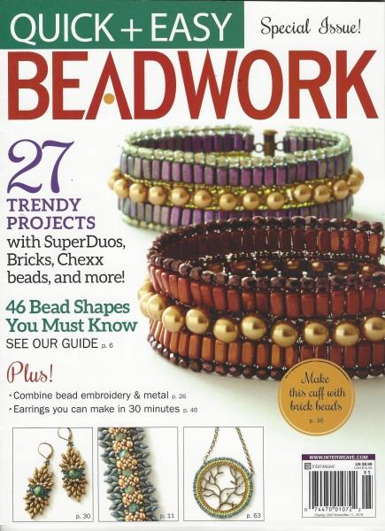 Beadwork Sonderausgabe Quick + Easy 2019