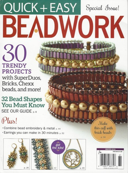 Beadwork Sonderausgabe Quick + Easy Winter 2016