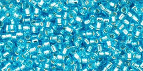 TOHO Treasures 11/0 (#23) Silver-Lined Aquamarine