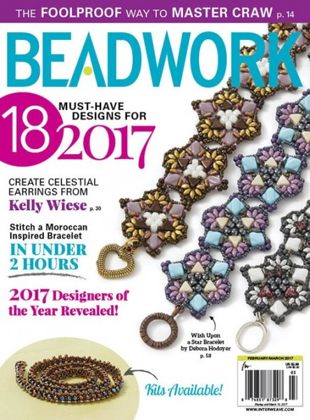 Beadwork Magazine February / March 2017