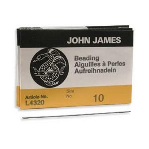 John James Nadeln normal 10er, 5 Stück