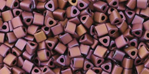 TOHO Triangle 11/0 (#703) Matte-Color Mauve Mocha