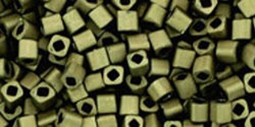 TOHO Cube 2mm (#617) Matte-Color Dark Olive