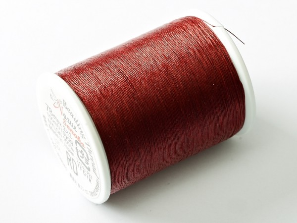 Nozue Sonoko Beading Thread Red, 100 m