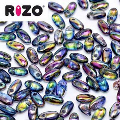Rizo Beads 2,5x6mm Magic Blue