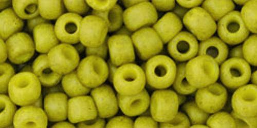 TOHO Rocailles 6/0 (#2001) Ancient Matte Olive