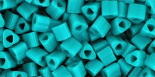 TOHO Triangle 8/0 (#55) Opaque Turquoise