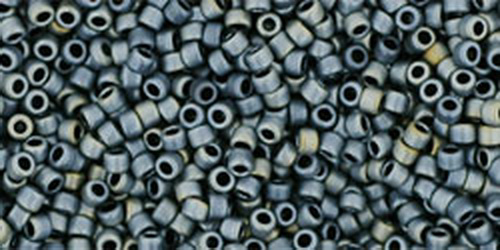 TOHO Rocailles 15/0 (#612) Matte-Color Gun Metal