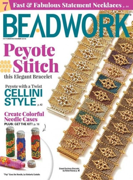 Beadwork Magazine October/November 2018