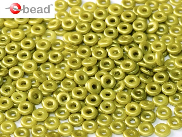 O-Beads 2x4 mm Pastel Lime