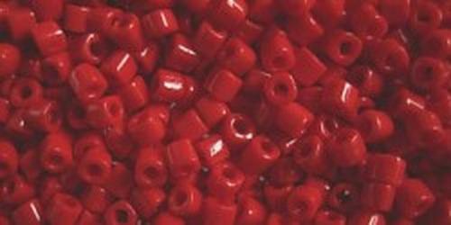 TOHO Hexcut 8/0 (#45) Opaque Pepper Red