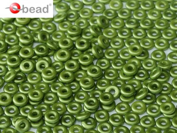 O-Beads 2x4 mm Pastel Olivine