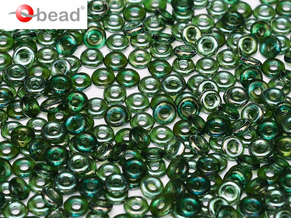 O-Beads 2x4 mm Emerald Celsian
