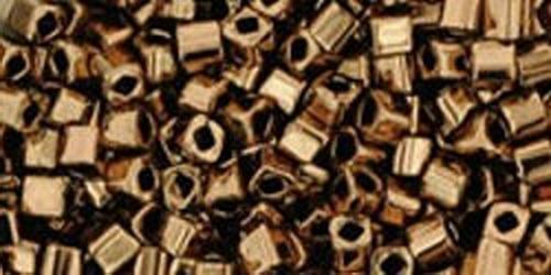 TOHO Cube 2mm (#221) Bronze