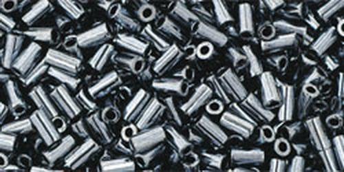 TOHO Bugle #1 (#81) Metallic Hematite