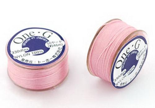 TOHO One-G Perlfaden Pink