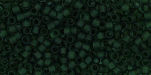 TOHO Treasures 11/0 (#940F) Transparent-Frosted Olivine