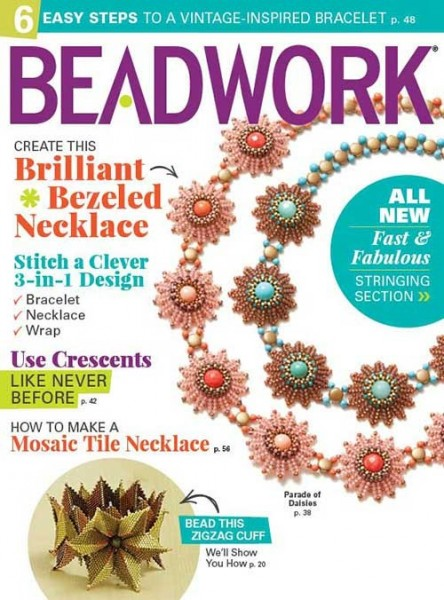 Beadwork Magazine April/May 2017