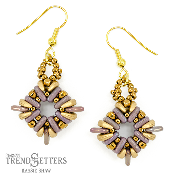 Cornerstones Earrings By TrendSetter Kassie Shaw