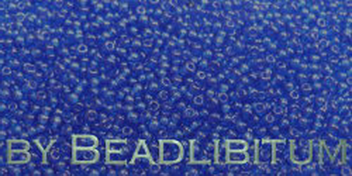 Tschechische Rocailles 16/0 Lustered Cobalt, 10g
