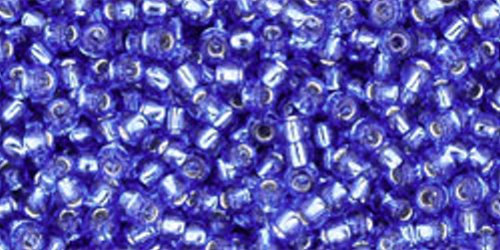 TOHO Rocailles 11/0 (#35) Silver-Lined Sapphire
