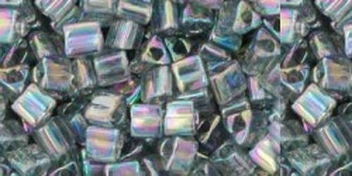 TOHO Triangle 11/0 (#176B) Trans-Rainbow Gray