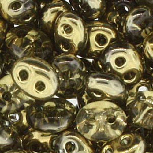 Twin Beads 2,5x5mm (#0005M) Bronze