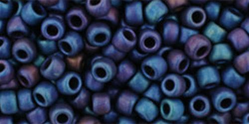 TOHO Rocailles 8/0 (#82F) Frosted Metallic Nebula