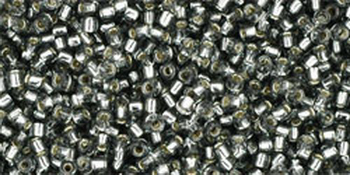 TOHO Treasures 11/0 (#29) Silver-Lined Black Diamond