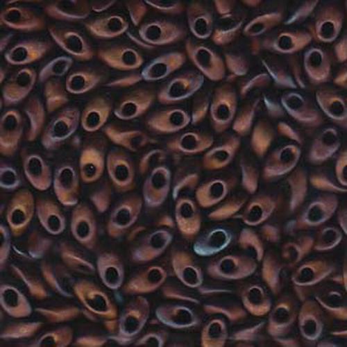 Miyuki Long Magatama (#2005) Matte Metallic Copper