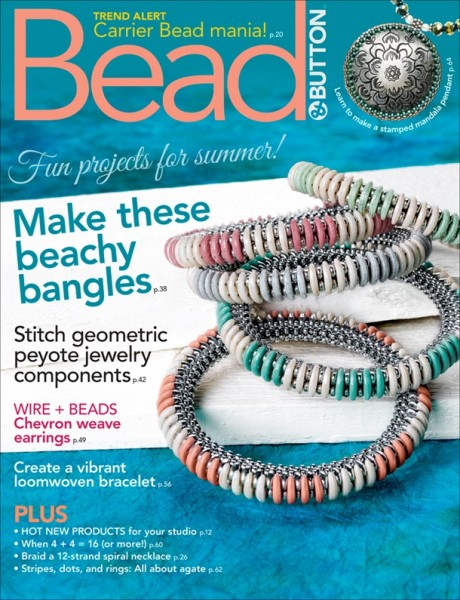 Bead & Button Magazine June 2018
