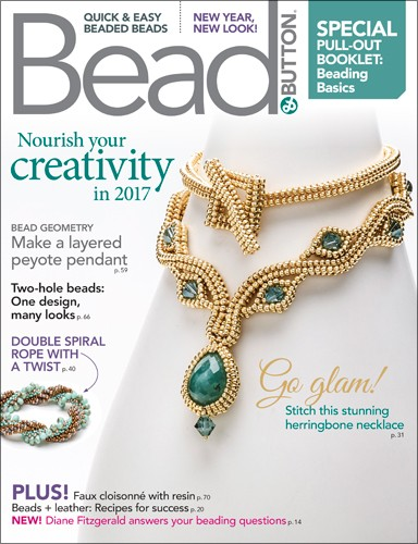 Bead & Button Magazine February 2017