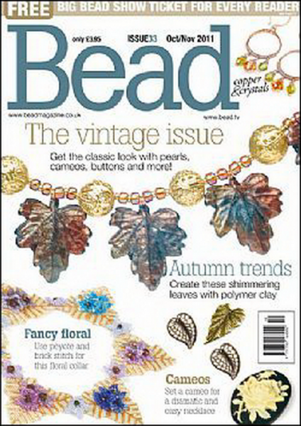 Bead Magazine Issue 33 October/November 2011